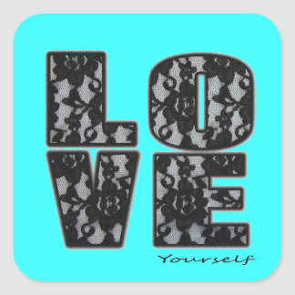 Love Yourself Stickers