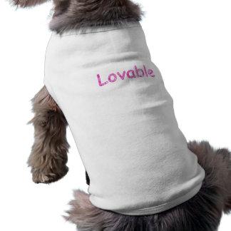 Loveable doggy Tshirt Doggie Tee