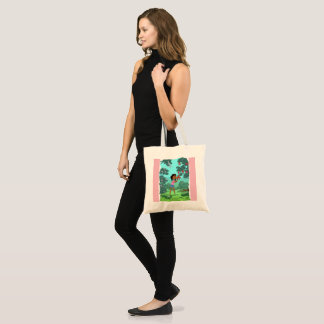 Loveable Flowers design tote bag