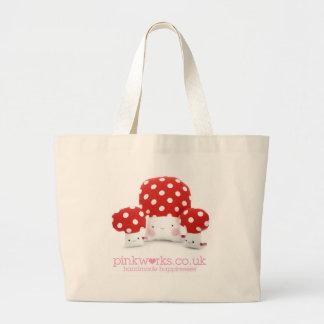 Loveable Mushrooms Tote Bag