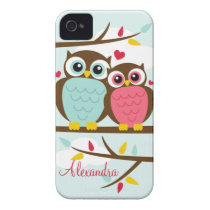 Loveable Owls iPhone Case