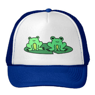 Loveables - Froggy Pond Frogs Trucker Hat