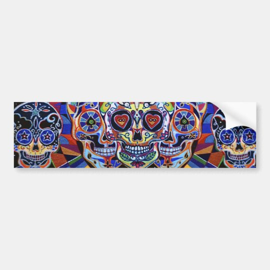 LoveAnd Death Bumper Sticker