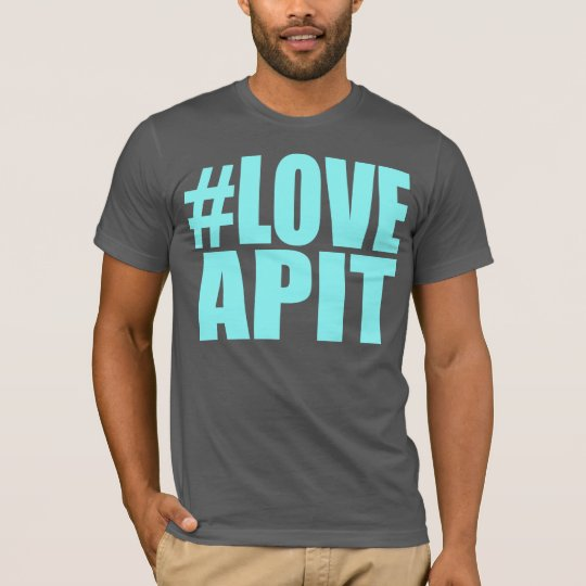 #LOVEAPIT Mens Blue T-Shirt- OTHER COLORS AVAIL T-Shirt