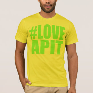 #LOVEAPIT Mens Green T-Shirt- OTHER COLORS AVAIL T-Shirt