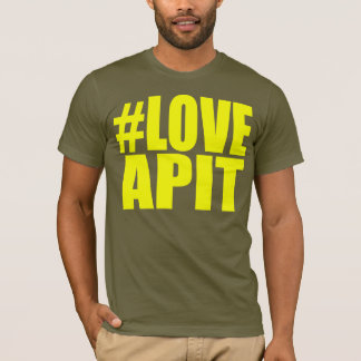 #LOVEAPIT Mens Yellow T-Shirt- OTHER COLORS AVAIL T-Shirt