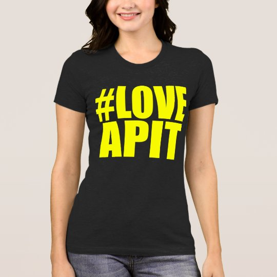 #LOVEAPIT Woman Yellow AA T - OTHER COLORS AVAIL T-Shirt