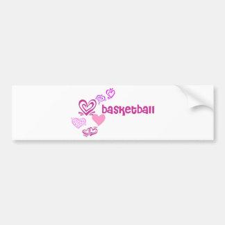 lovebasketball. bumper sticker