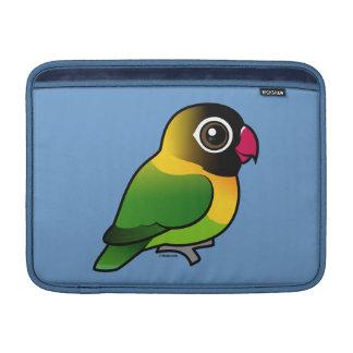 Lovebird Amarillo-agarrado Funda Macbook Air