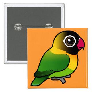 Lovebird Amarillo-agarrado Pin