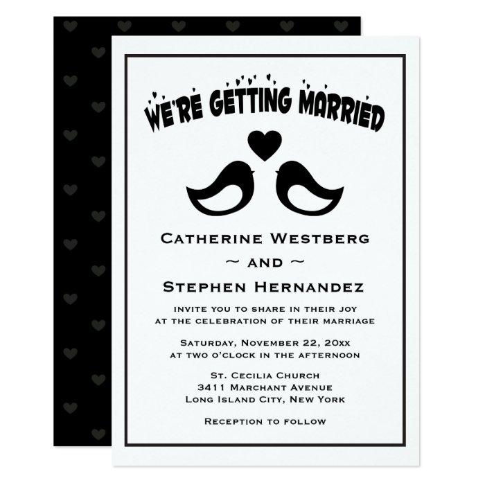 Lovebird Wedding Invitations was amazing invitation example