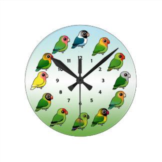 Lovebird Clock