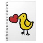 Lovebird Cuadernos