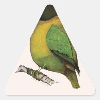 lovebird, fernandes tony pegatina triangular