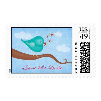Lovebird gets Lovebug Postage
