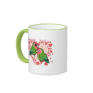 Lovebird Love Heart Coffee Mug