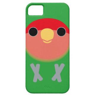 Lovebird Melocotón-hecho frente iPhone 5 Carcasas