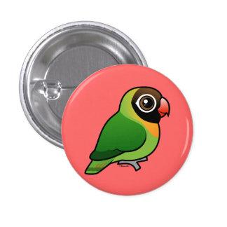 Lovebird Negro-cheeked Pins