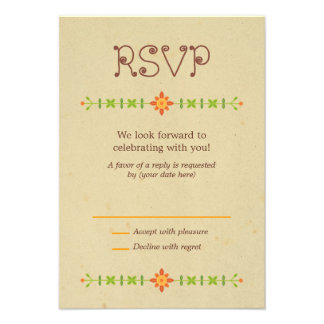 Lovebird Owls Wedding RSVP Custom Invitation