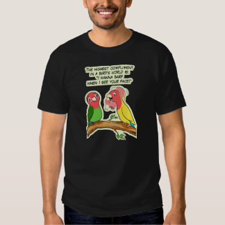 Lovebird parrot and bird way telling i love you T-Shirt