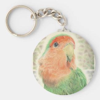 Lovebird Pilaf Keychain