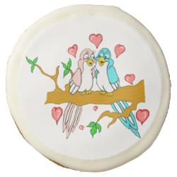 Lovebird Sugar Cookies Sugar Cookie