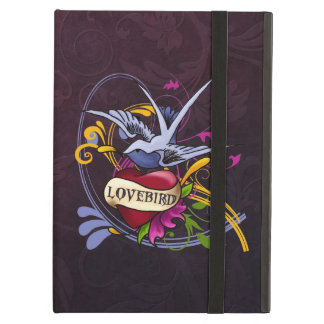 Lovebird Tattoo iPad Folio Case