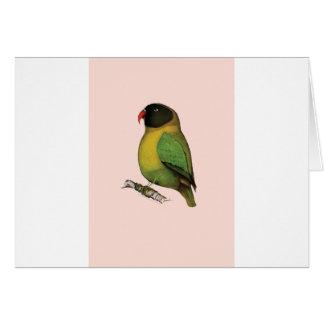 lovebird, tony fernandes card