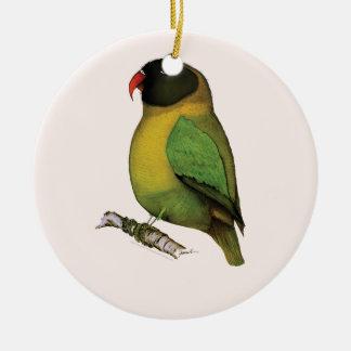 lovebird, tony fernandes ceramic ornament