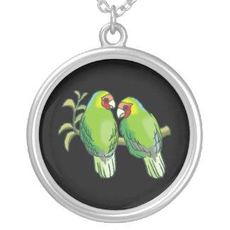 Lovebirds 2 pendiente personalizado