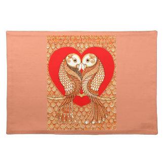 Lovebirds 2 placemat