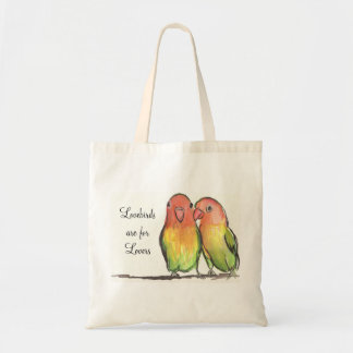 Lovebirds Are For Lovers Tote