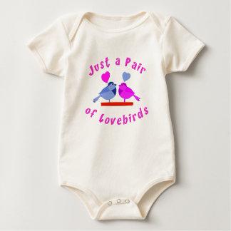 Lovebirds Baby Bodysuit