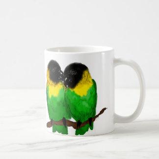 Lovebirds Classic White Coffee Mug