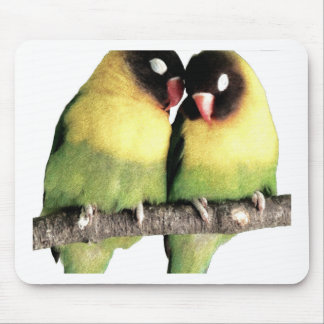 Lovebirds Mouse Pad