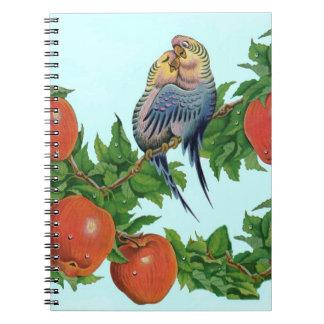 lovebirds or love birds or bird lovers notebook