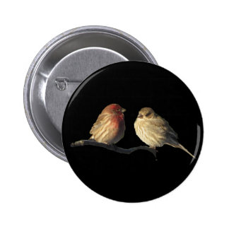 Lovebirds Pin Redondo 5 Cm