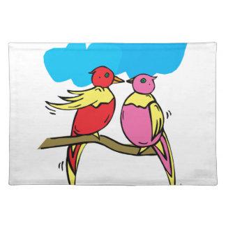 Lovebirds Placemat
