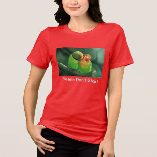 Lovebirds Plus-size Tee Shirt