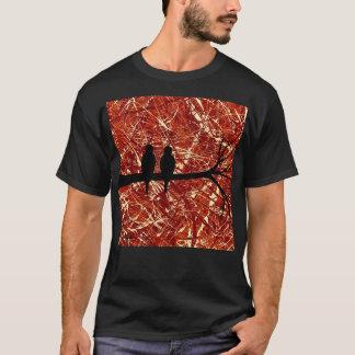 LOVEBIRDS: REMAINS OF THE DAY (bird design) ~ T-Shirt