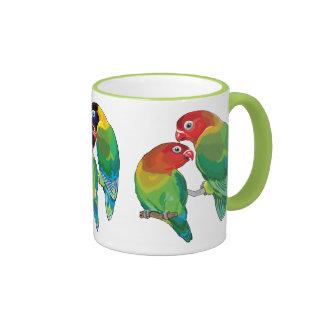 lovebirds ringer mug