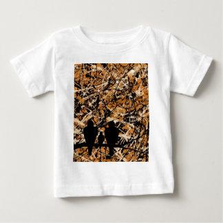 LOVEBIRDS - THREE'S COMPANY (bird design) ~ Baby T-Shirt