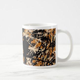 LOVEBIRDS: THREE'S COMPANY (bird design) ~ Classic White Coffee Mug