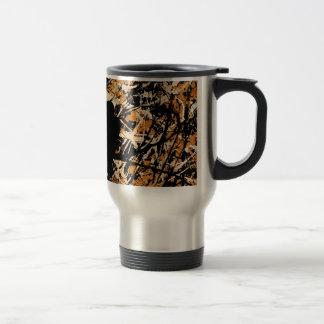 LOVEBIRDS: THREE'S COMPANY (bird design) ~ Travel Mug