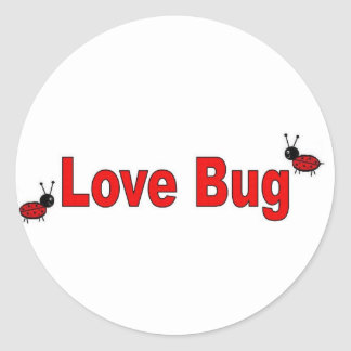 LoveBug Classic Round Sticker