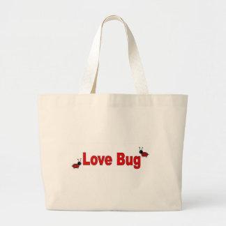 LoveBug Large Tote Bag