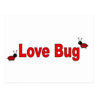 LoveBug Tarjetas Postales