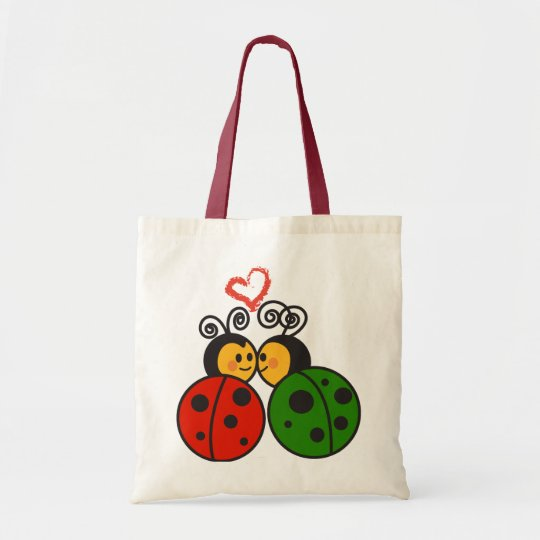 lovebug tote bag