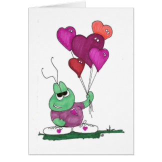 lovebugg baloons card