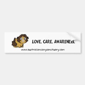 lovecareawareness pegatina de parachoque